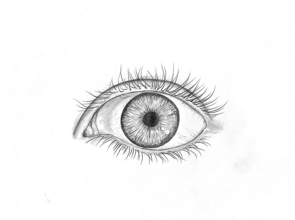 Pencil eye - image 1 - student project