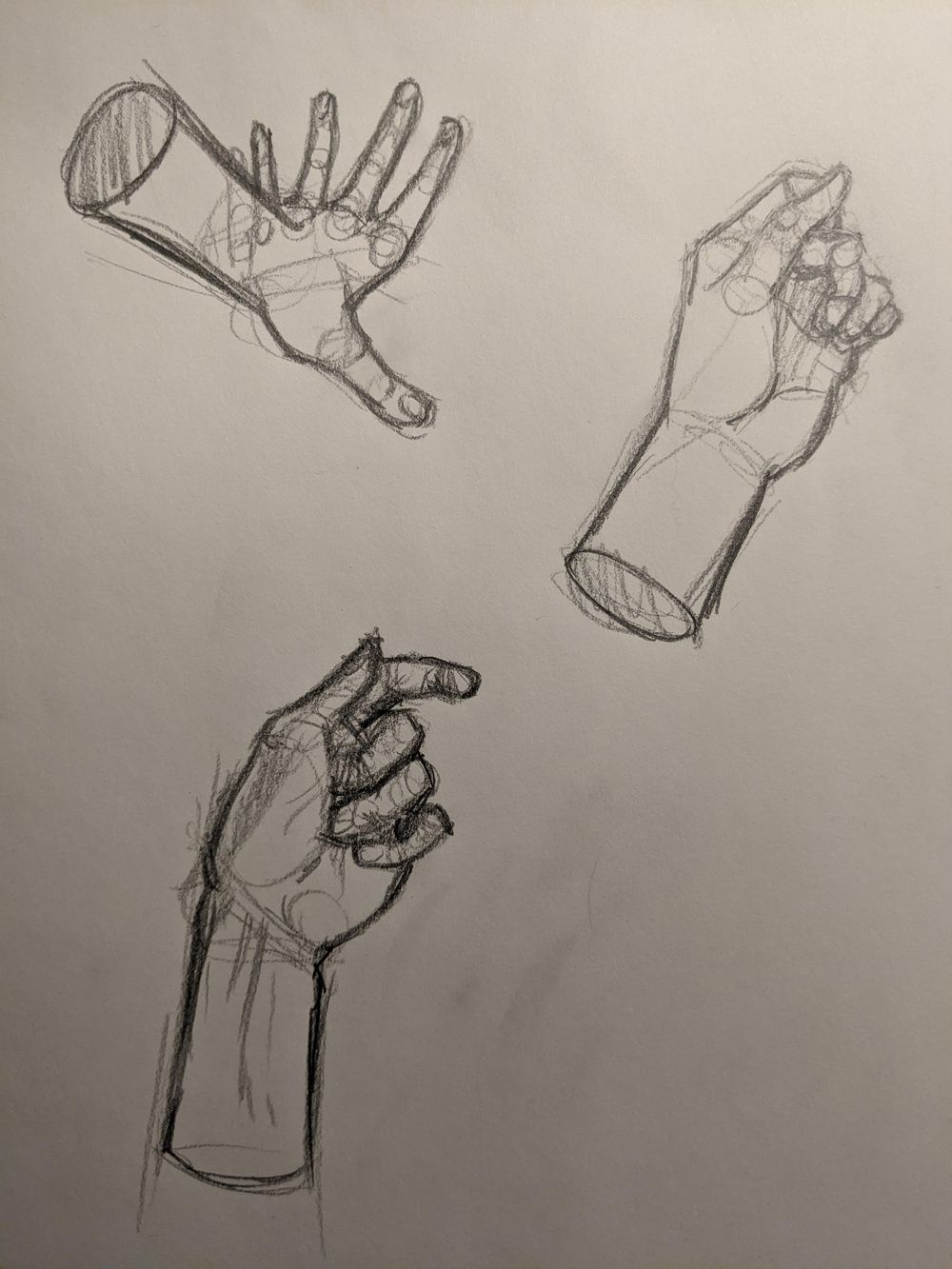 Drawing Hands - image 1 - student project