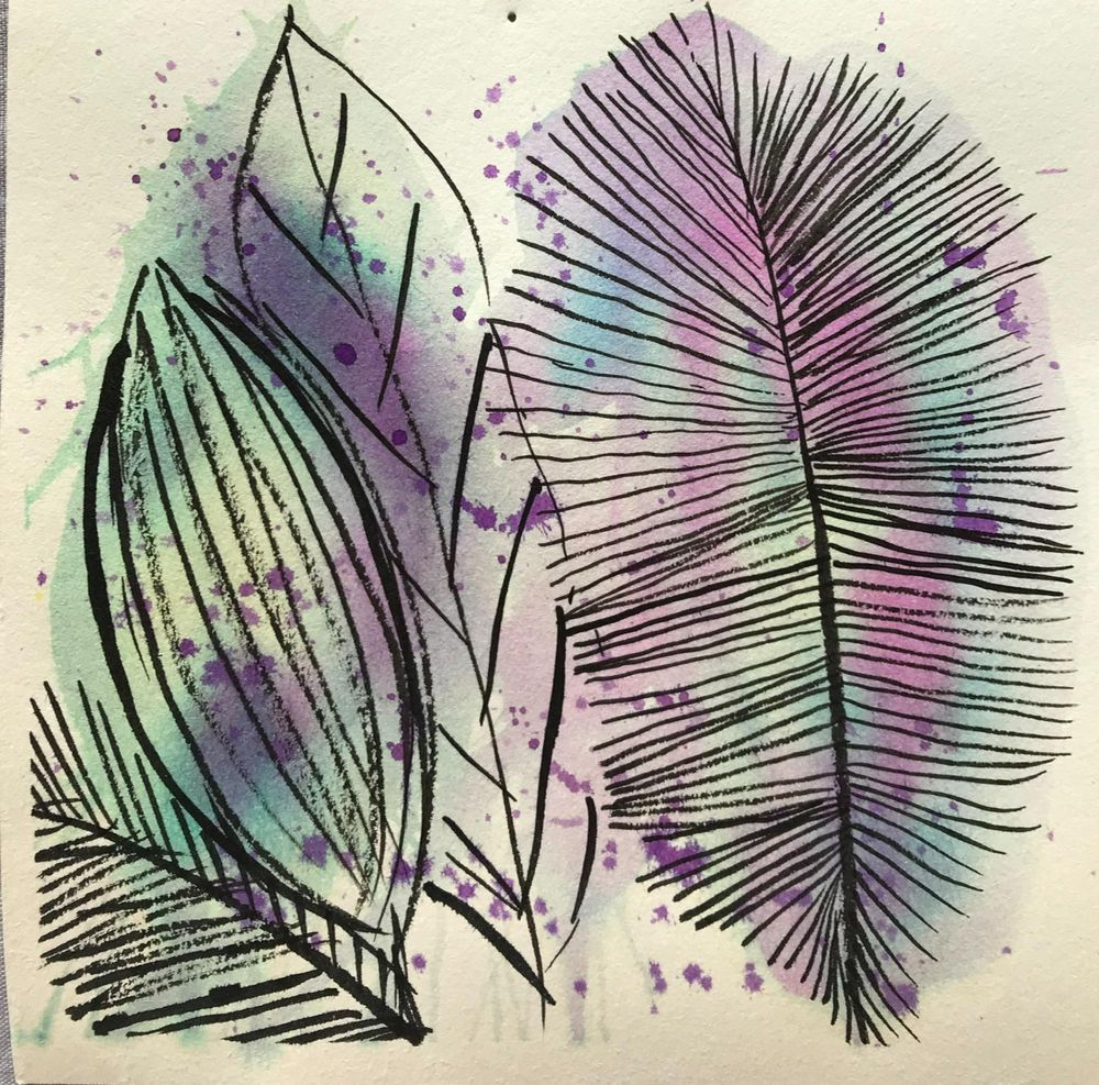 Fun with ink and watercolour - image 6 - student project