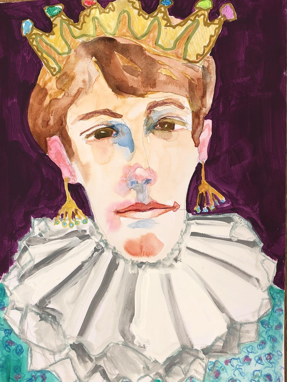 Mary/self portrait - image 1 - student project