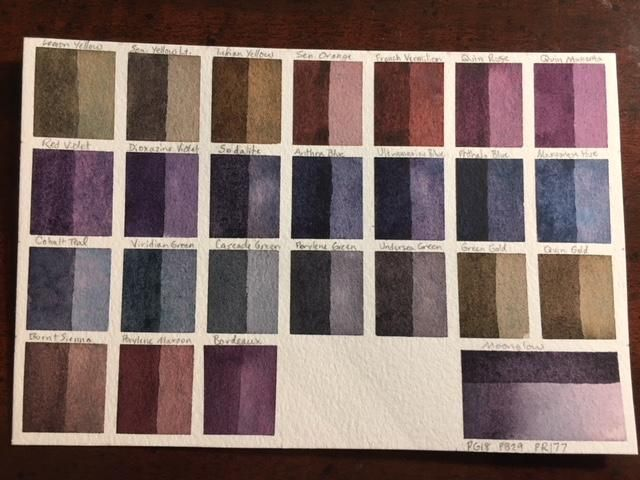 Custom Palette, ID Chart and Swatches - image 9 - student project