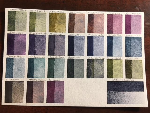 Custom Palette, ID Chart and Swatches - image 10 - student project