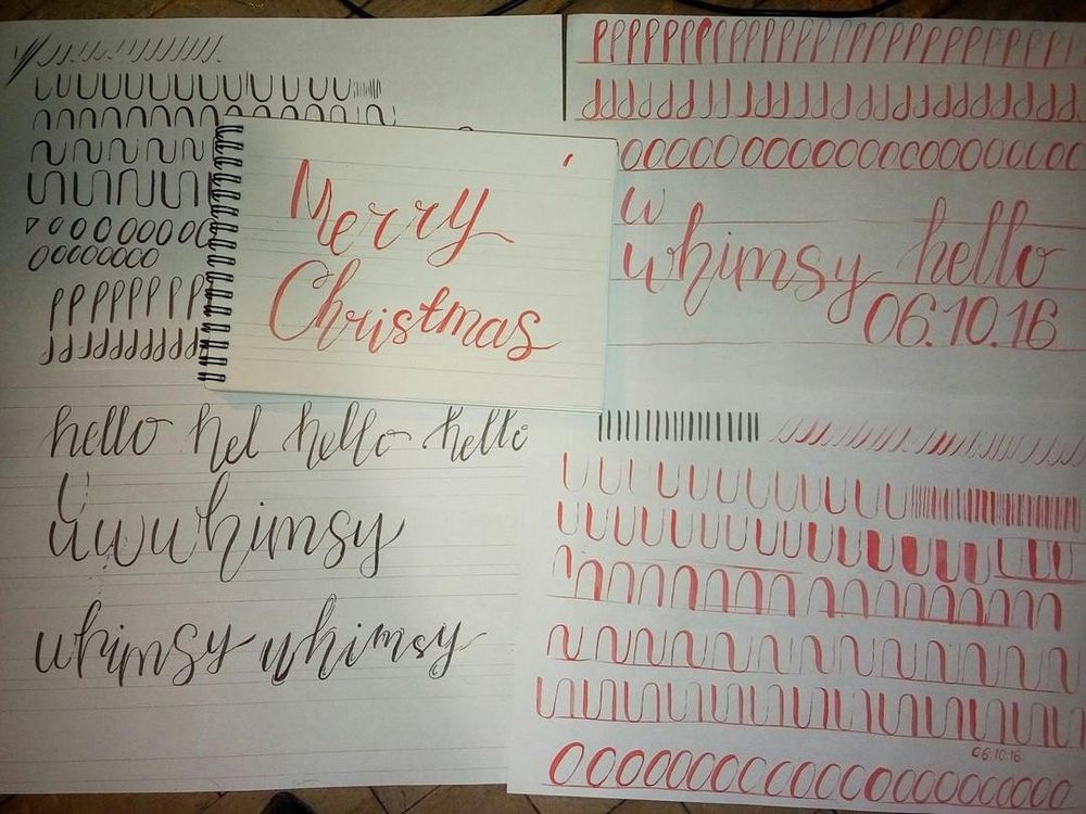 Christmas Lettering - image 1 - student project