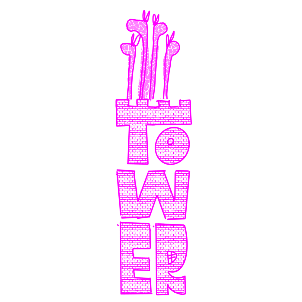 a tower of giraffes - image 2 - student project