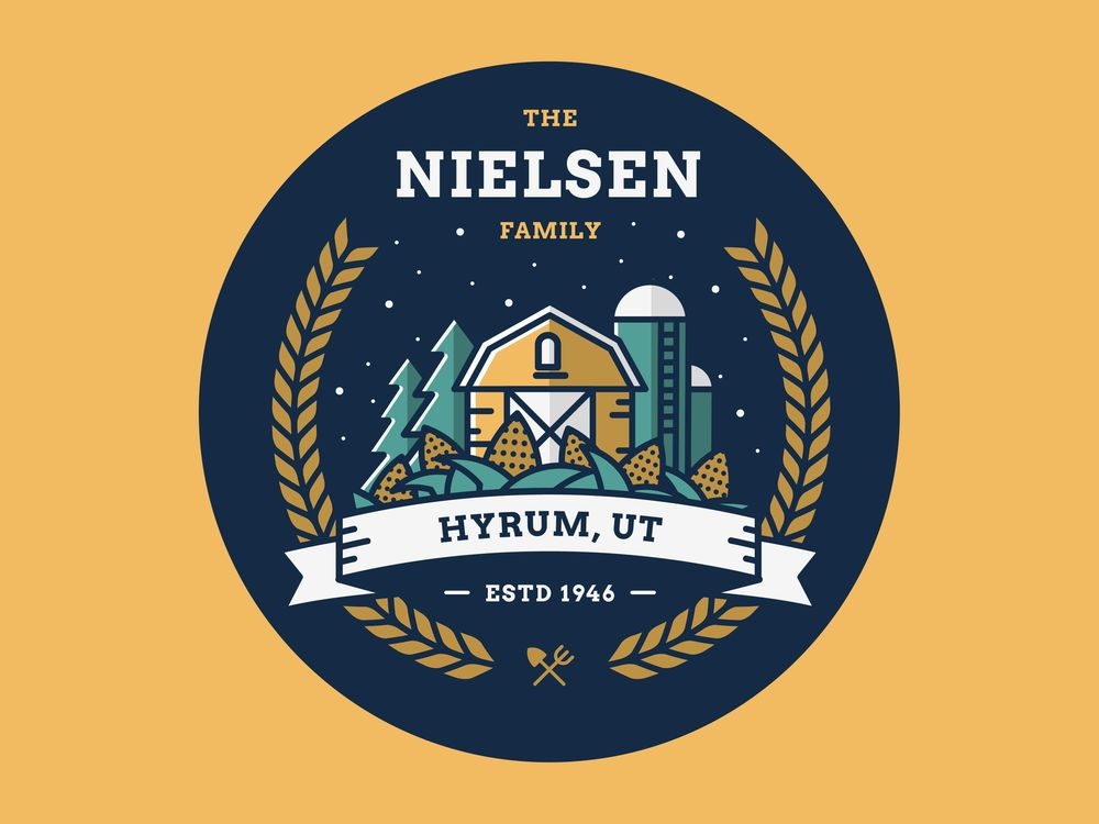 Nielsen Family Crest - image 1 - student project