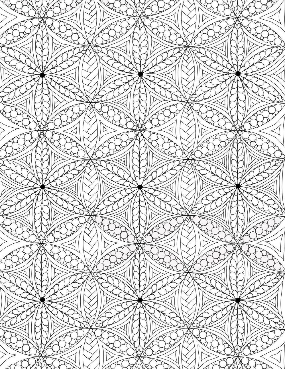 Finished Full Page Mandala - image 1 - student project