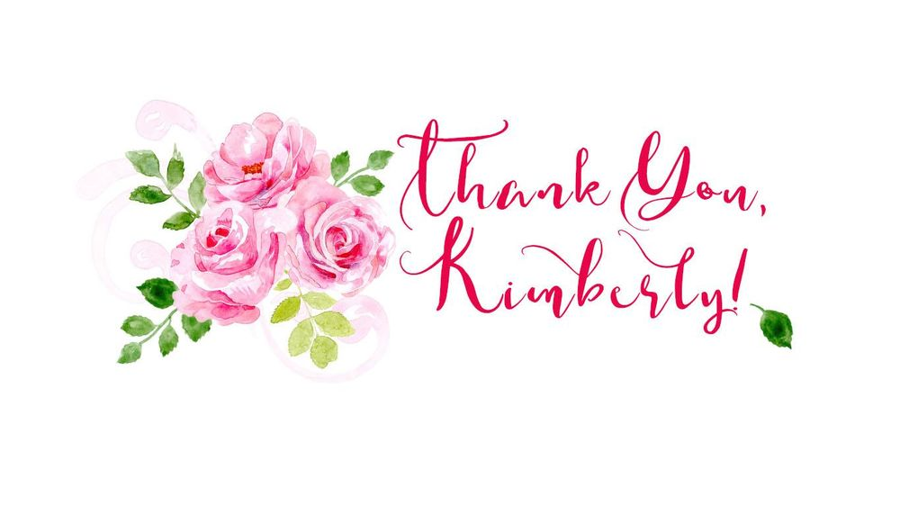 Thanks Kimberly! - image 1 - student project