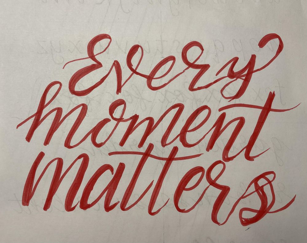Hand lettering 4 easy steps - image 1 - student project