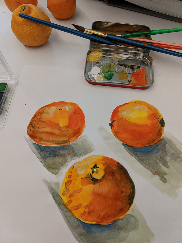 Clementines - image 1 - student project