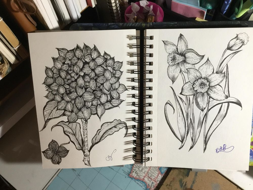 These are from yr lesson - image 2 - student project