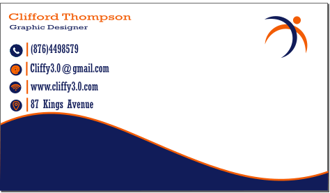 Business card - image 1 - student project