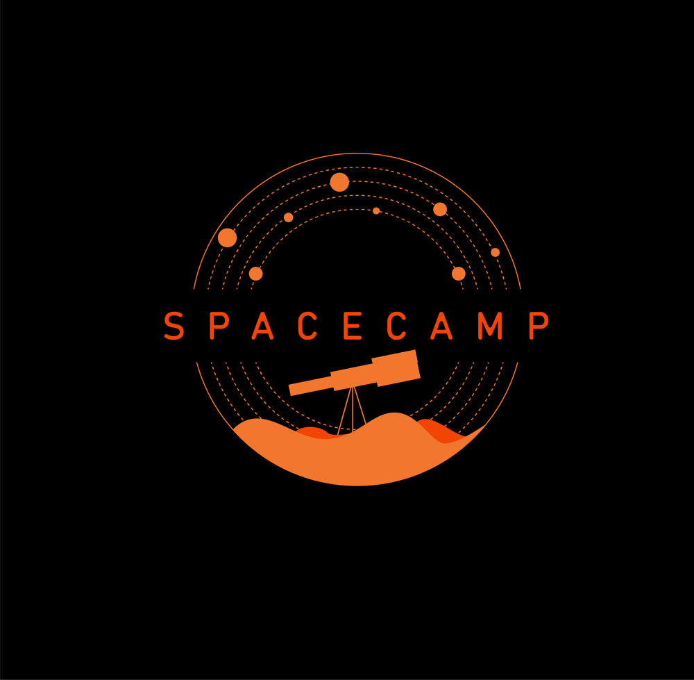 Spacecamp Logo - image 2 - student project