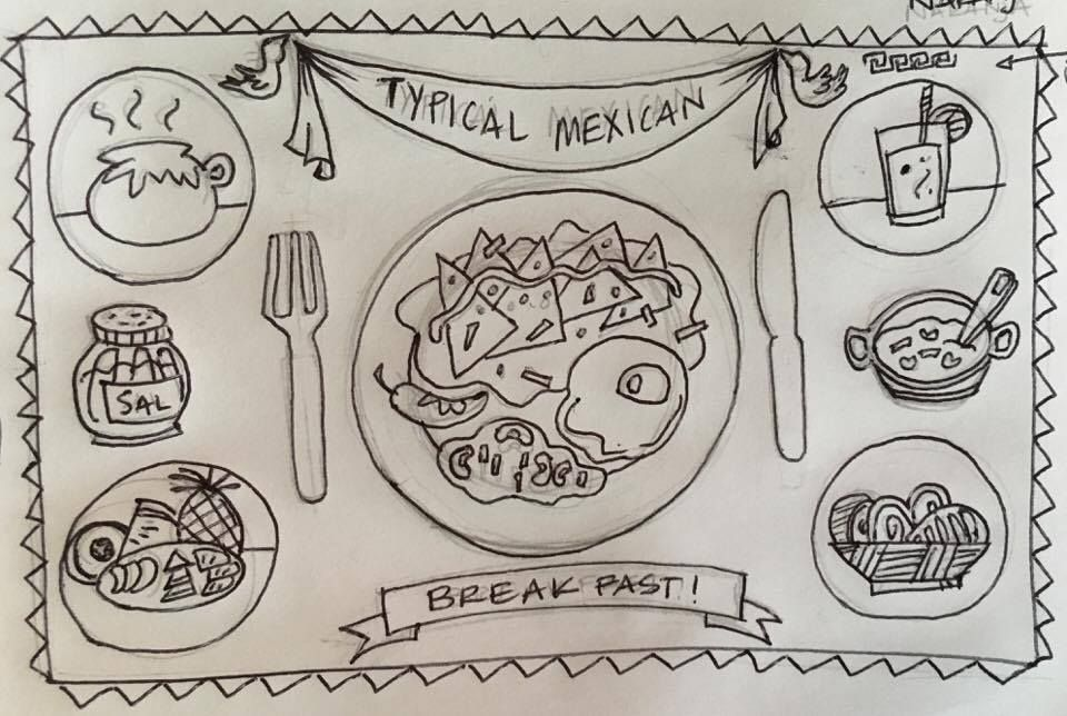 MEXICO IN A PLATE - image 1 - student project
