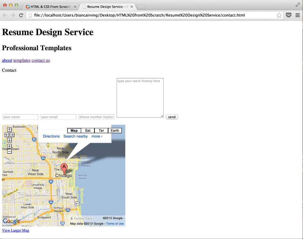 Resume Design Service - image 3 - student project