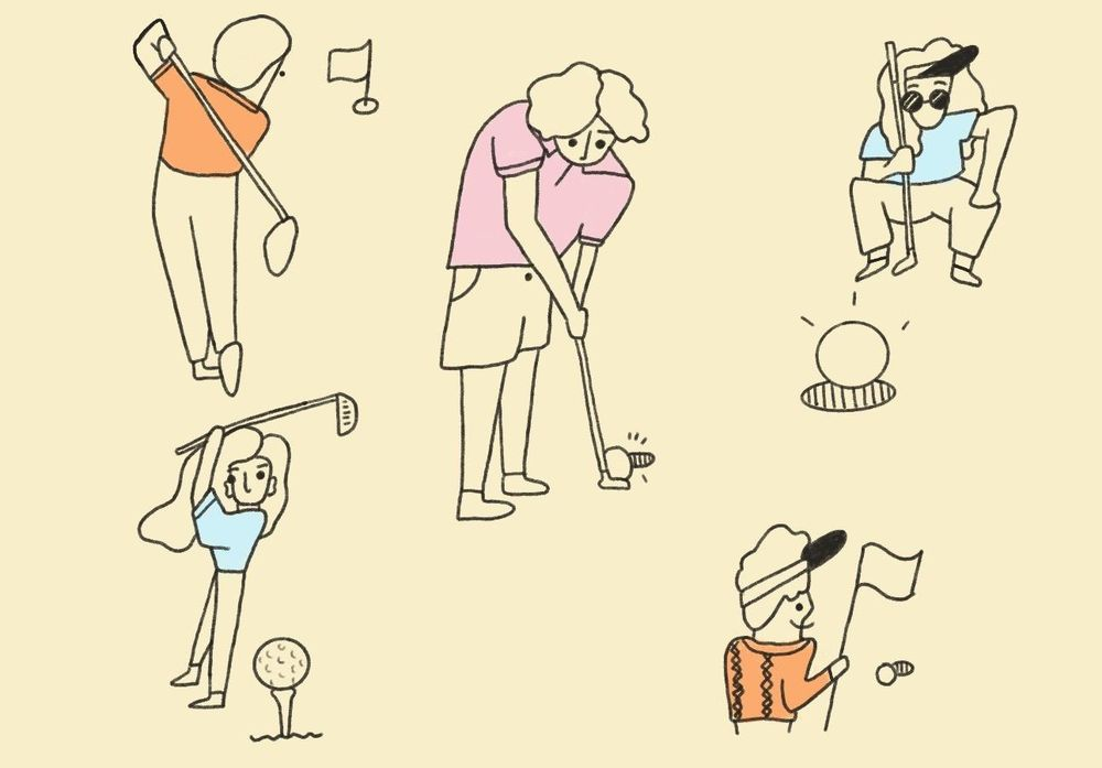 Odd bodies: Coffee and Golf - image 1 - student project