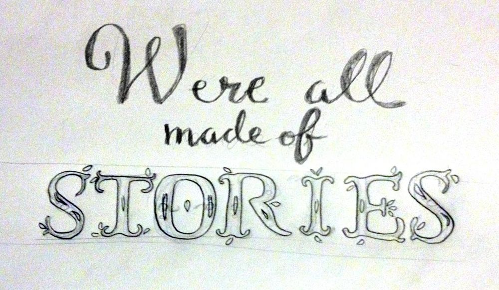 We're all made of stories. - image 2 - student project