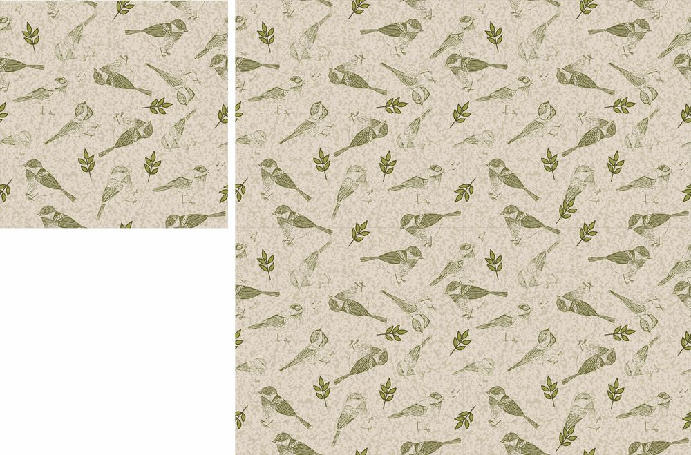 Seamless repeat pattern in affinity design - image 1 - student project