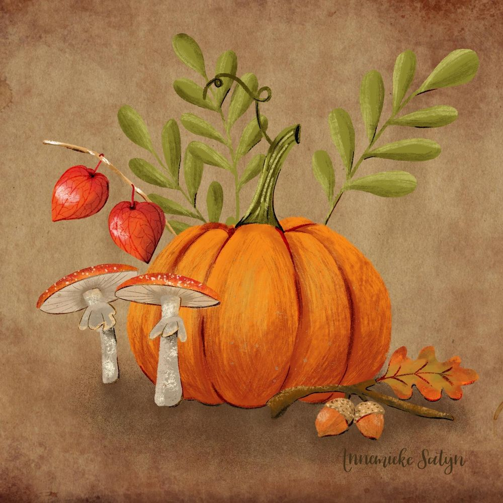 Fall is coming! Procreate 5x - image 1 - student project