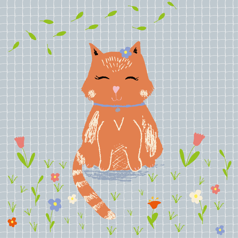 Cute cat - image 1 - student project