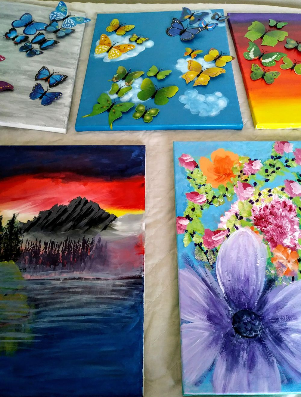 April's Favorite Paintings To Date - image 1 - student project