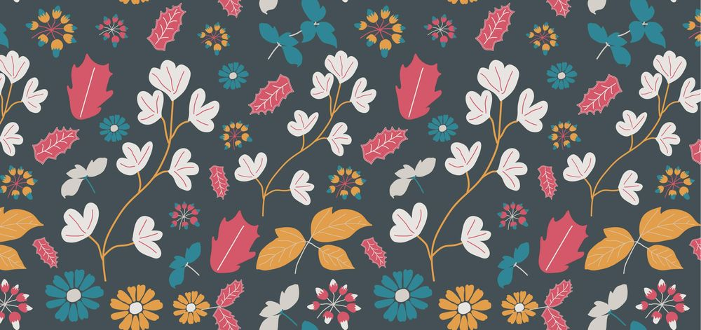 Floral pattern - image 2 - student project
