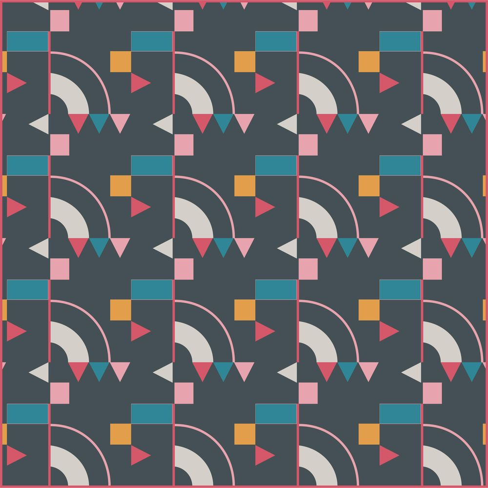 Geometric pattern - image 1 - student project