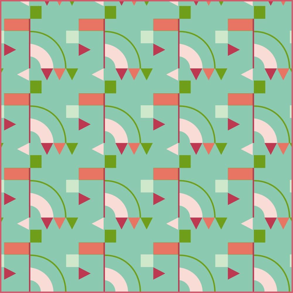 Geometric pattern - image 2 - student project