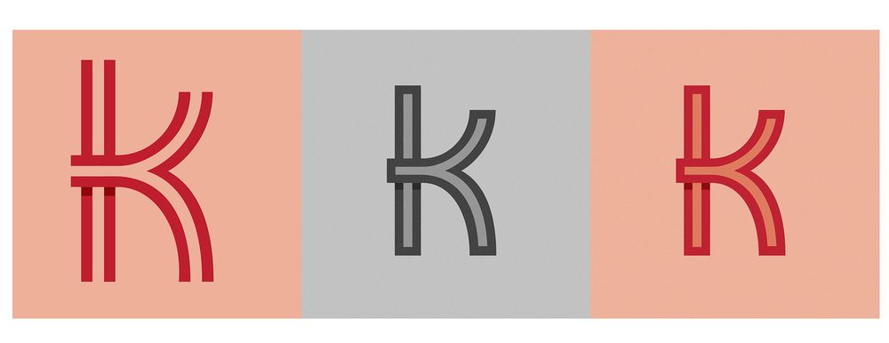 Letter K Logo - image 3 - student project