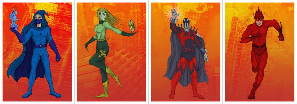 Seven Super Villains - image 5 - student project