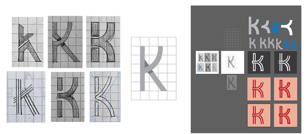 Letter K Logo - image 2 - student project