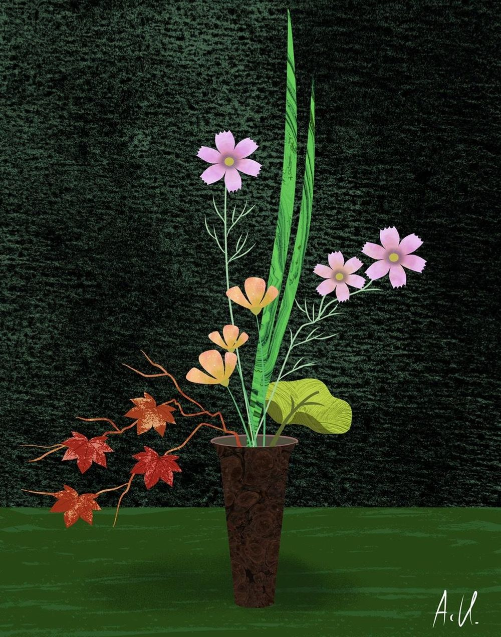 Autumn Flowers - image 1 - student project