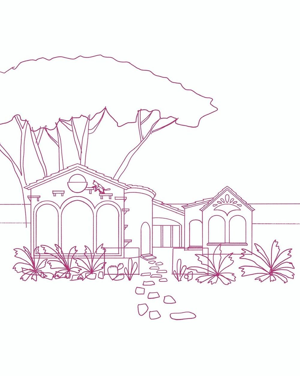 My ideal seaside house with cats - image 1 - student project