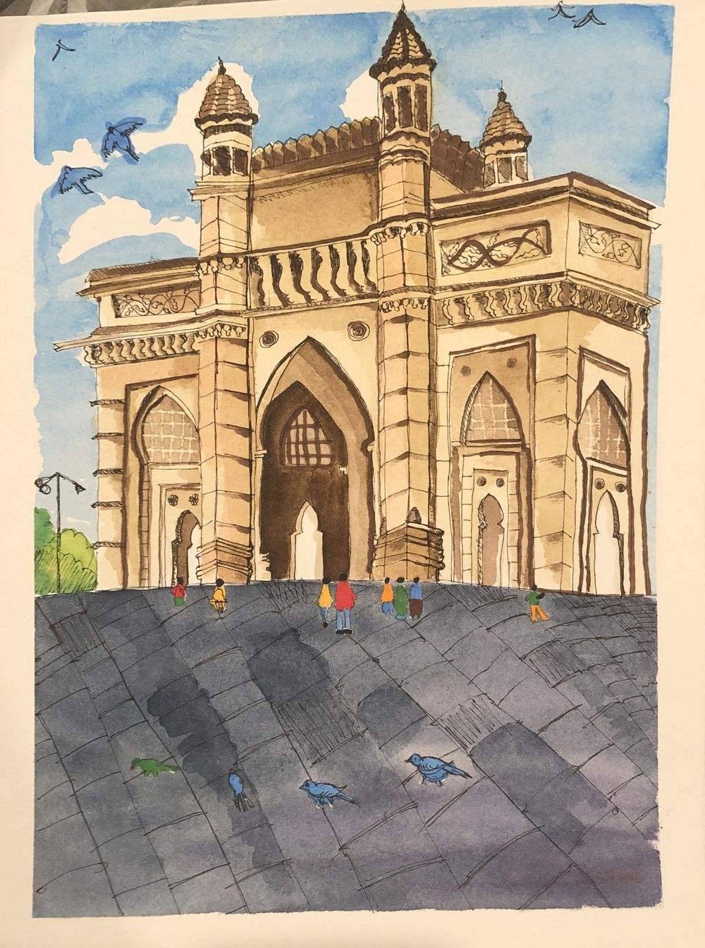 Gate way of India - Mumbai - image 1 - student project