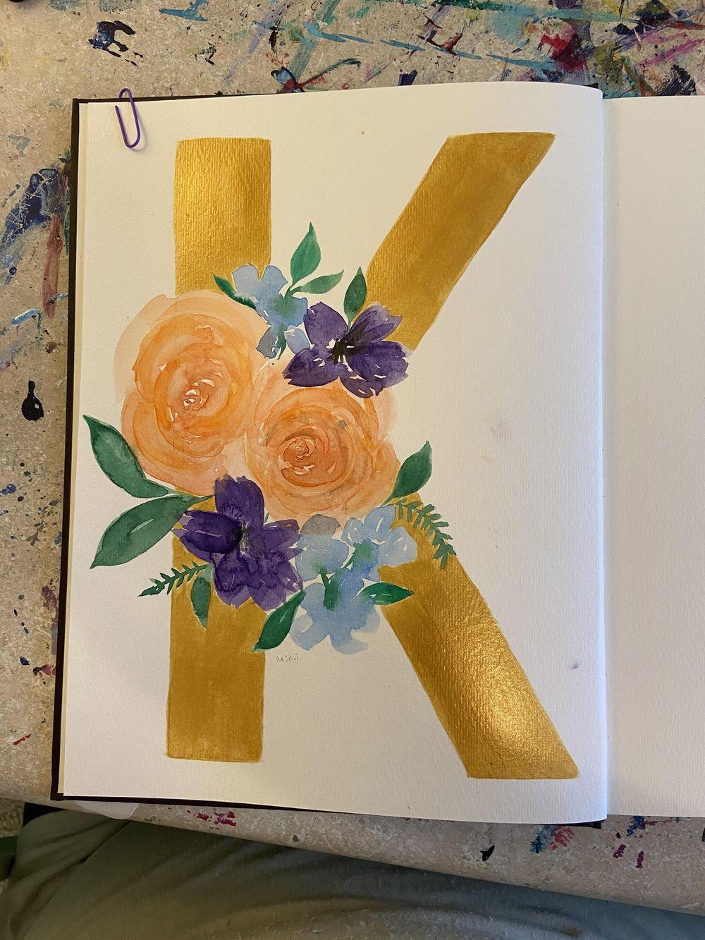 metallic 'K' - image 1 - student project