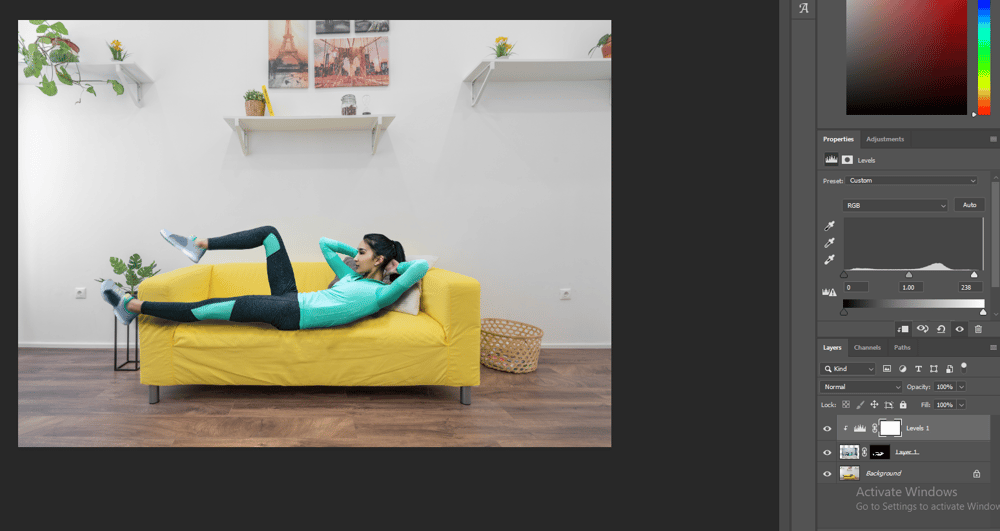 comfy on a sofa - image 3 - student project