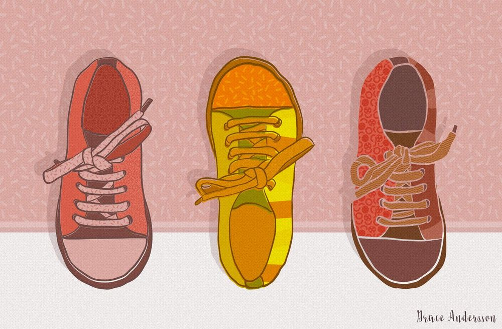 Shoes & Pattern - image 1 - student project