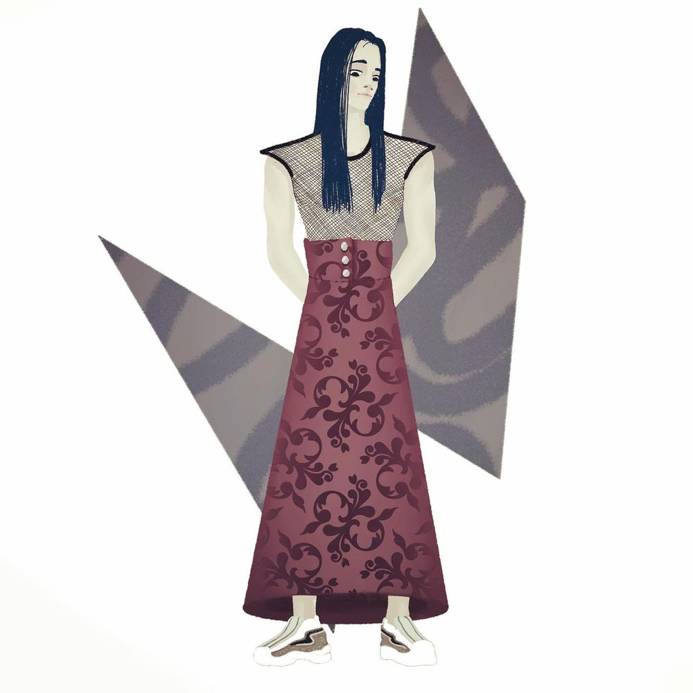 Character Illustration - image 1 - student project