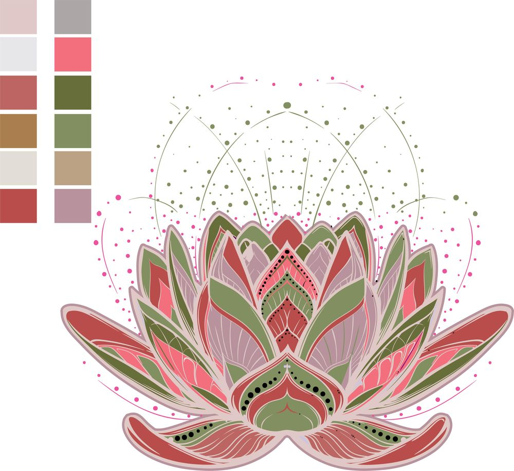 Mandala in color - image 2 - student project