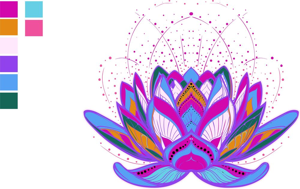 Mandala in color - image 1 - student project