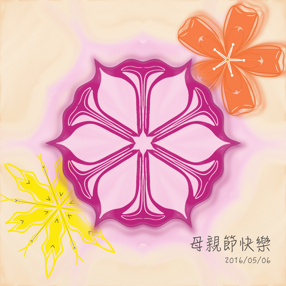 Play with symmetry  flowers - image 2 - student project
