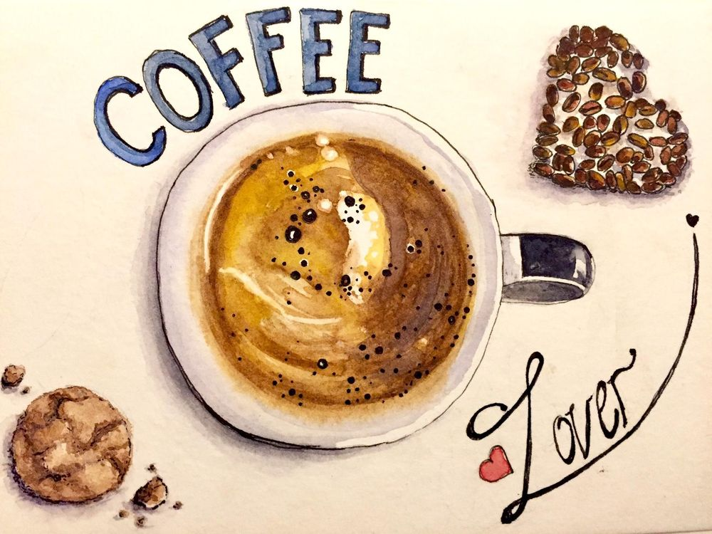 I love coffee - image 1 - student project