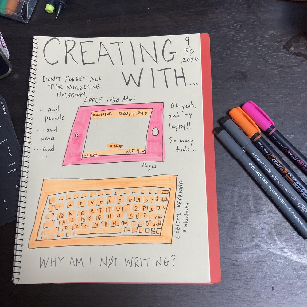 Illustrated Journaling through Inktober - image 12 - student project