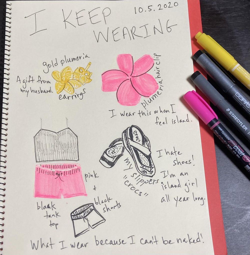 Illustrated Journaling through Inktober - image 7 - student project