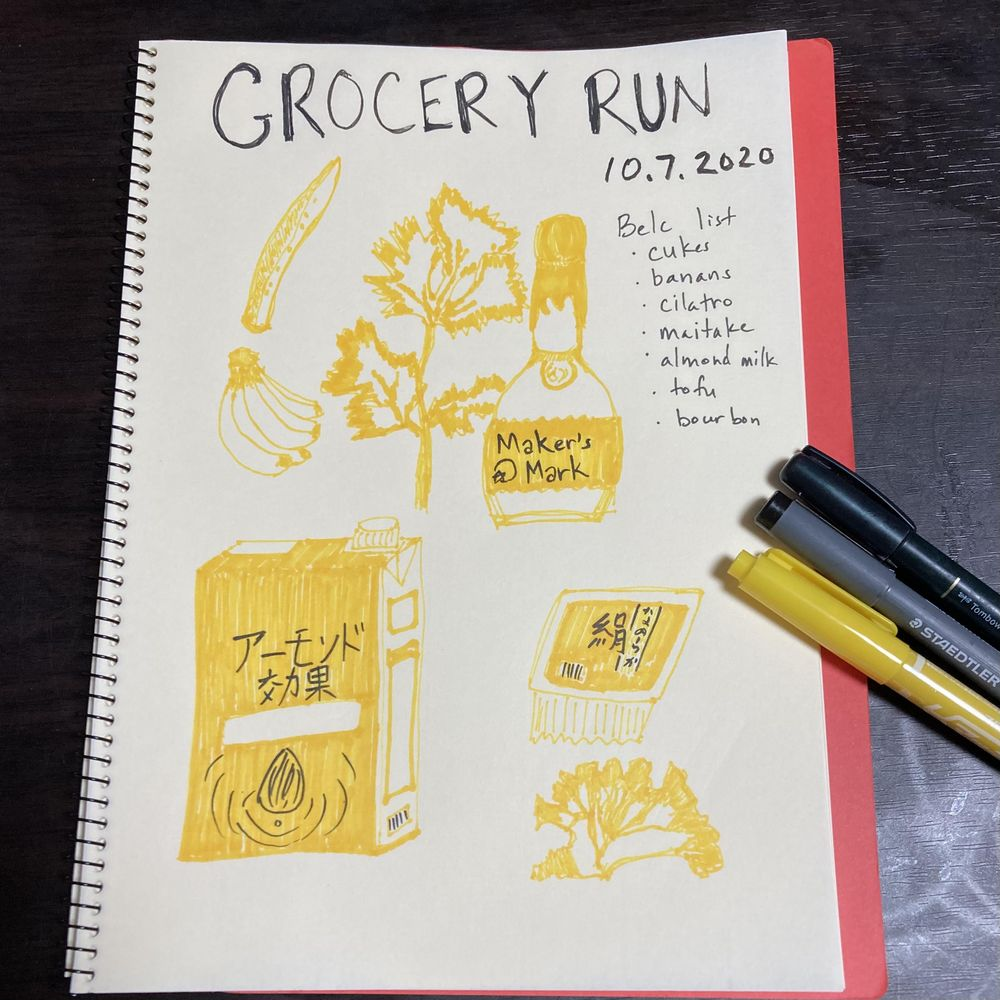 Illustrated Journaling through Inktober - image 5 - student project