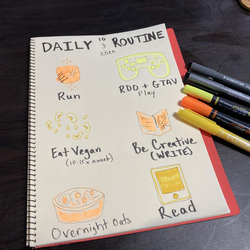 Illustrated Journaling through Inktober - image 9 - student project