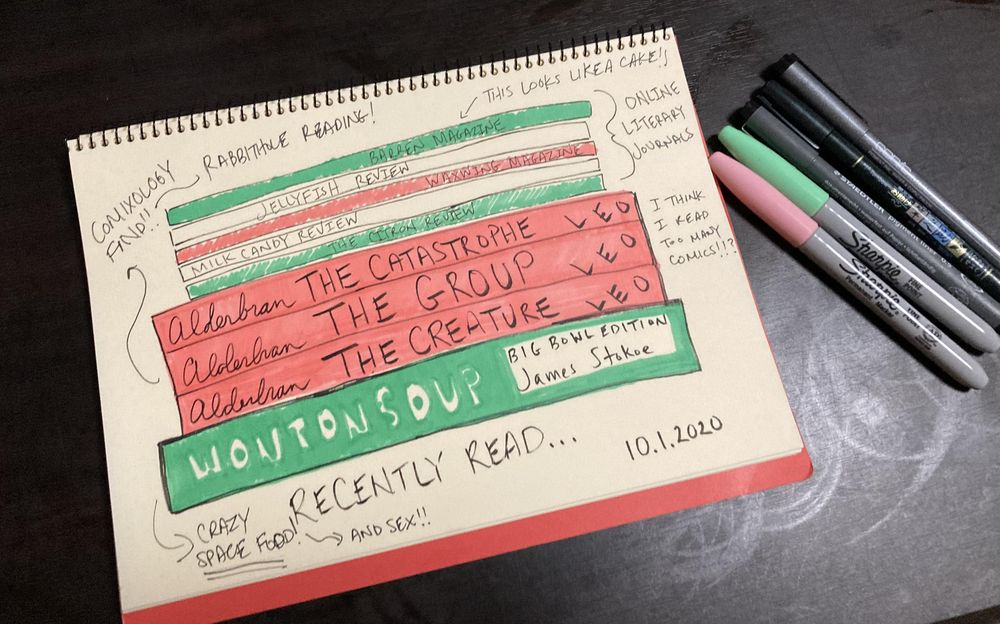 Illustrated Journaling through Inktober - image 11 - student project