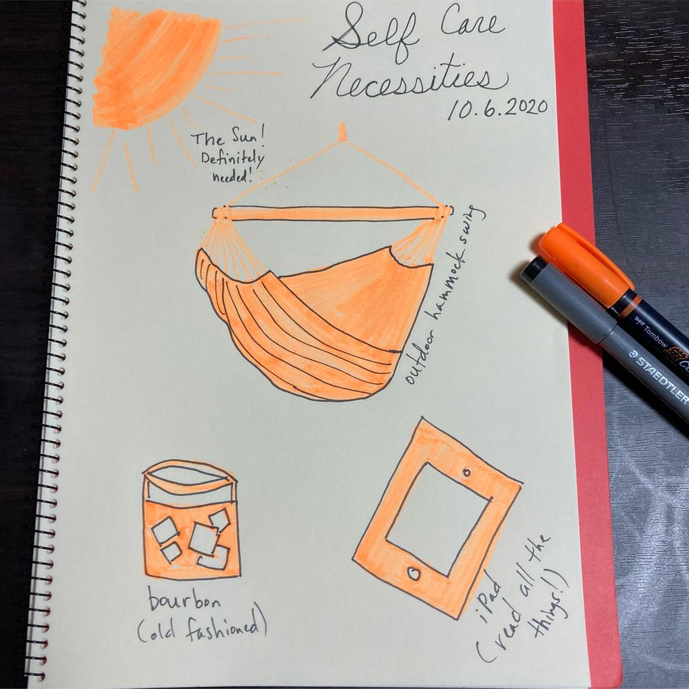 Illustrated Journaling through Inktober - image 6 - student project
