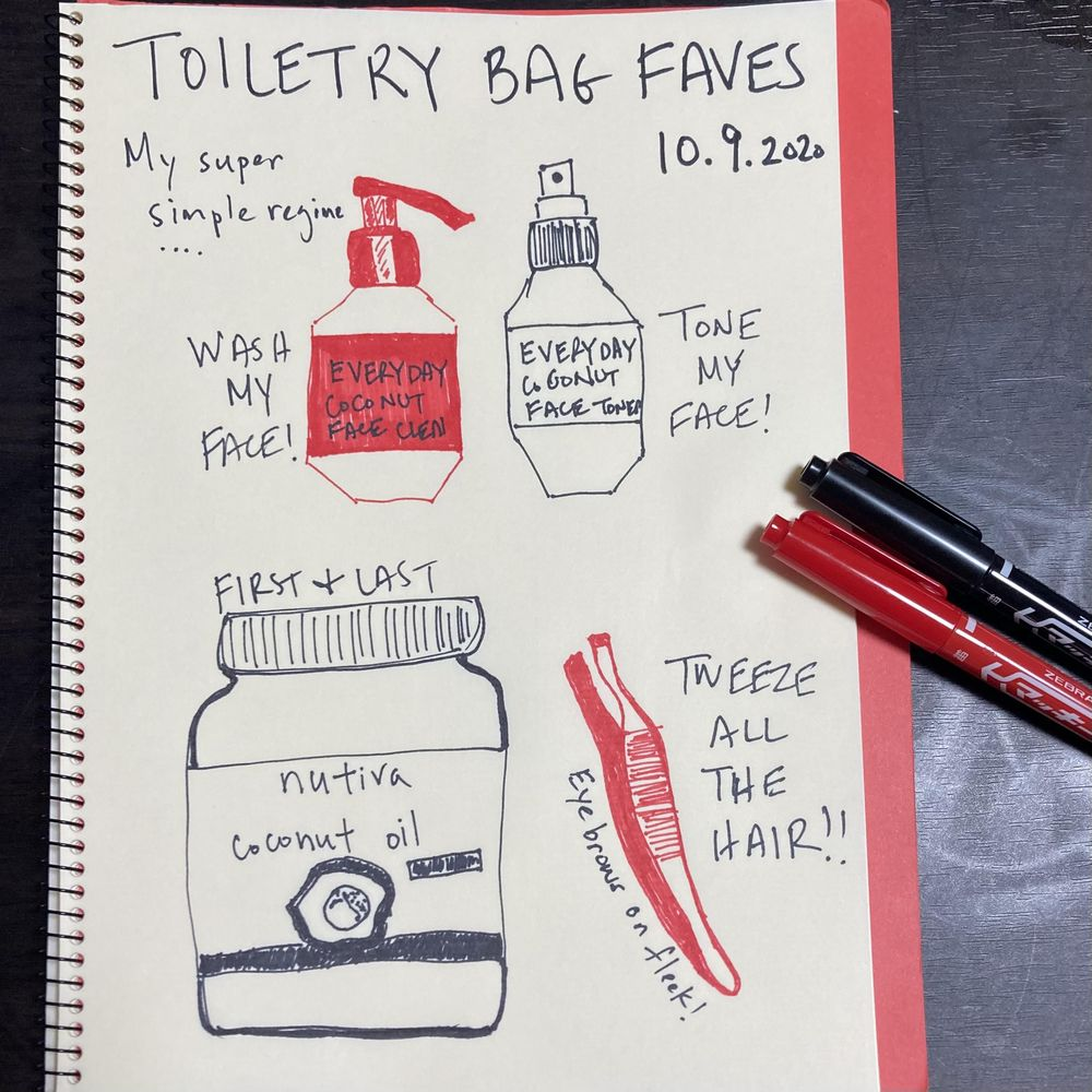Illustrated Journaling through Inktober - image 3 - student project