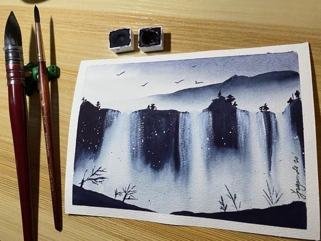 Chasing waterfalls - image 1 - student project