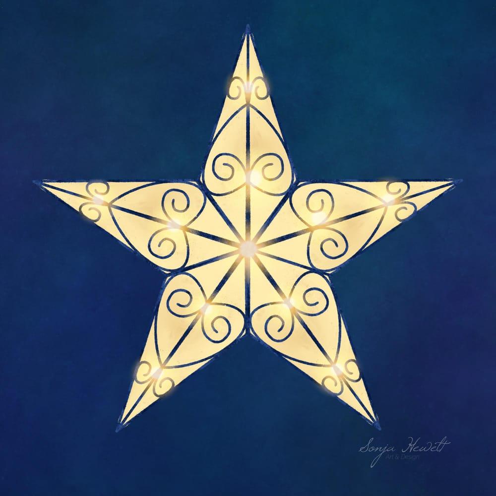 Lightning Star - image 1 - student project